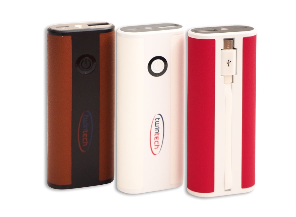 TwinTech Power Bank - BEYAZ